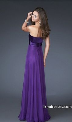 2015 Collection Sweetheart Floor Length Chiffon Prom Dresses Under 200