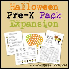 HalloweenExpansionButton Halloween Pre K Pack Expansion