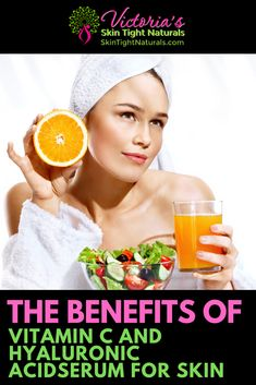 Why is Vitamin C & Hyaluronic Acid So Great For Your Skin? : Benefits of Vitamin C Serum For Skin Morning Beauty Routine, Beauty Routines, Skincare Routine, Skin Care Regimen, Skin Care Tips, Skin Tips, Vitamin C Benefits, Korean Beauty Tips, Hyaluronic Serum