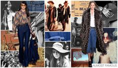 Women's and Young Contemporary Denim Trend Themes, F/W 2015-16, ALMOST FAMOUS