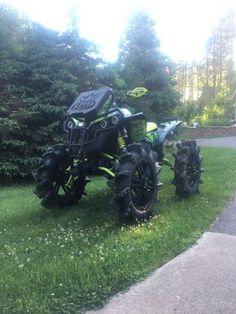 Can Am Atv, Big Girl Toys, Atv Riding, Atv Four Wheelers, Dirtbikes, Offroad, Super Cars, Monster Trucks, Snowmobiles