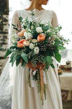 Букет невесты : стиль Рустик (рустикальные) фото : 218 идей 2017 года на Невеста.info