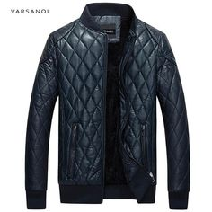Varsanol Brand Leather Bomber Jacket Men Long Sleeve Zipper Loose Casual Warm Outwear Solid Waterproof Overcoat Plus Size M-4XL http://thegayco.com/products/varsanol-brand-leather-bomber-jacket-men-long-sleeve-zipper-loose-casual-warm-outwear-solid-waterproof-overcoat-plus-size-m-4xl
