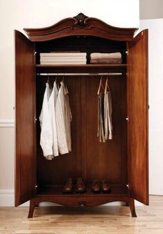 Olivia Mahogany 2 Door Wardrobe