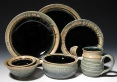 Pottery Place setting by Gammel House Pottery