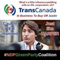 #JustinTrudeau the #BigOil man... #corrupt like #StephenHarper ?