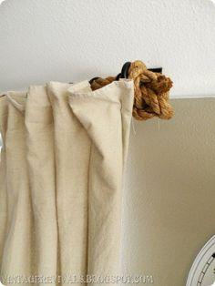 diy-rope-curtain-rod