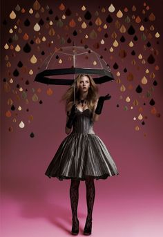 Manic Laminates Fashion Shoot When we were asked to create a look for a… Tim Walker, Umbrella Photography, Fashion Photography, Fashion Shoot, Editorial Fashion, Fashion Art, High Fashion, Under My Umbrella, Rain Umbrella