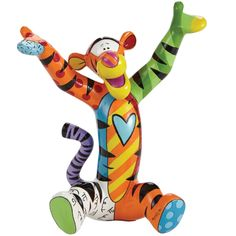 Figurine Winnie l'Ourson - Tigrou par Romero Britto