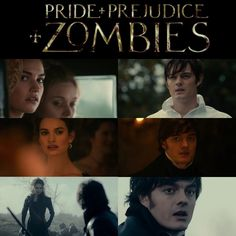 Pride and Prejudice and Zombies (2016) Lizzie Bennett and Mr. Darcy