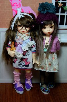 These dolls are pretty much awesome...