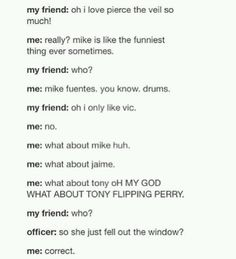 XD This is how I'd be if it was paramore...some people really tick me off!!