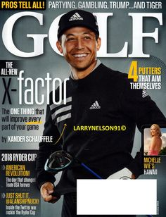 GOLF MAGAZINE OCTOBER 2018 TIGER WOODS MICHELLE WIE XANDER SCHAUFFELE RYDER CUP Michelle Wie, Tiger Woods, Golf Magazine, Ryder Cup, Revolution, Magazines, October, Baseball Cards, American