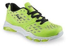 Everlast Sport Boy's Battle II Neon Green/Black Athletic Shoe