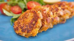 Bacon and Pumpkin Fritters. So easy, and a great way to use up excess raw pumpkin. Gourmet Recipes, Cooking Recipes, Healthy Recipes, Easy Recipes, Pumpkin Fritters, Appetizer Dishes, Appetizers, Veggie Delight, Savory Snacks