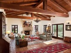 Hacienda-Style Kitchens | Beautiful Spanish Hacienda In Santa Barbara | iDesignArch | Interior ...