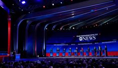 ABC News Democratic Debate Broadcast Set Design Gallery George Stephanopoulos, Tv Set Design, Us Election, Abc News, Over The Years, Gallery, Roof Rack