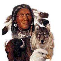 Native American Chief photo NA-ChiefAnimals.jpg