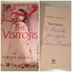 "Michelle @bookclubforum received her book in a giveaway: ""Thank you so much @rebeccamascull""."