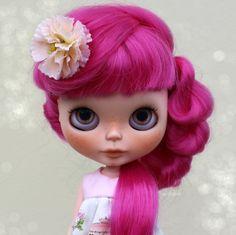 Genevieve OOAK Custom Art Blythe Doll by Rainfable por Rainfable