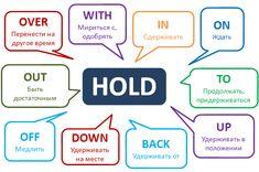 Фразовый глагол Hold #english #englishgrammar #английский #Phrasalverbs #фразовыеглаголы