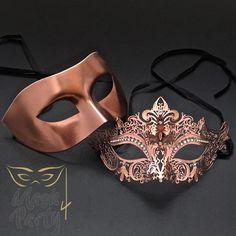 Masquerade Masks – Venetian Eye & Filigree Metal – Rose Gold Masquerade Masks – Venetian Eye & Filigree Metal – Rose Gold,costumes NEW – Masquerade Masks – Venetian Eye & Filigree Metal – Copper. Couples Masquerade Masks, Gold Masquerade Mask, Sweet 16 Masquerade, Masquerade Wedding, Venetian Masquerade, Venetian Masks, Masquerade Party Outfit, Mascarade Mask For Men, Masquarade Mask