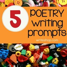 Using these poetry writing prompts, kids create fun or silly poems that include alliteration or rhyme.