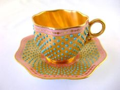 Coalport demitasse the late 1800s   .....................................Please save this pin.   ............................................................. Click on this link!.. http://www.ebay.com/usr/prestige_online