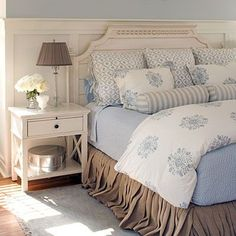 english cottage master bedroom - Google Search