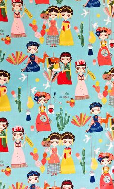 Mexican Fabric | Fri