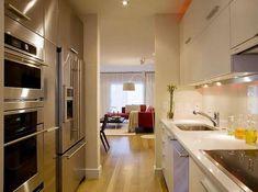 Diseño para Cocinas Pequeñas : Cocina y Muebles
