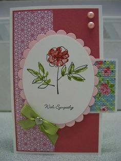 With Sympathy by Angie66 - Cards and Paper Crafts at Splitcoaststampers