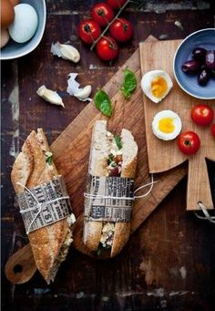 Wrapped sandwiches gives your sandwich a homemade look and an easy way to handle it