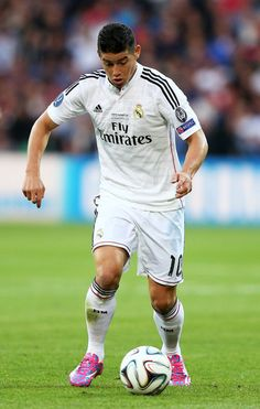 James Rodriguez - Real Madrid v Sevilla, 12th August 2014 - UEFA Super Cup