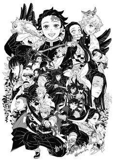 Fanarts Anime, Anime Chibi, Anime Characters, Demon Slayer, Slayer Anime, Otaku Anime, Anime Guys, Manga Art, Anime Art