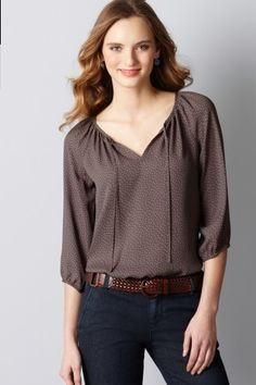 Wear shirts like this for work and fun, very versatile.