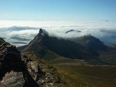 Vestover mot Lofoten Tromso, Lofoten, Mountains, Nature, Travel, Naturaleza, Viajes, Trips, Nature Illustration