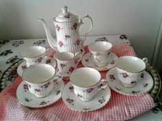 Princess House Exclusive, Hammersley Fine Bone China, Made in England Tea Set. #Hammersley