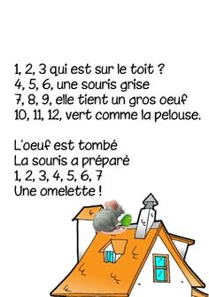 Discover recipes, home ideas, style inspiration and other ideas to try. French Teaching Resources, Teaching French, Teaching English, French Poems, Math Songs, French Education, French Classroom, Math Numbers, French Lessons