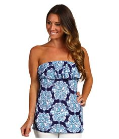 3637e211570 Lilly Pulitzer Wiley Tube Top at Zappos.com Lilly Pulitzer Tops