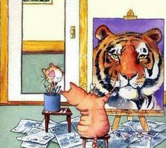 Funny pictures about Cat self-portrait. Oh, and cool pics about Cat self-portrait. Also, Cat self-portrait photos. Funny Cats, Funny Animals, Cute Animals, Funny Humor, 9gag Funny, Funny Cartoons, Wild Animals, Crazy Cat Lady, Cat Art