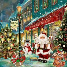 Frosty The Snowman Santa Claus Is Coming To Town GIF - FrostyTheSnowman SantaClausIsComingToTown NorthPole - Discover & Share GIFs