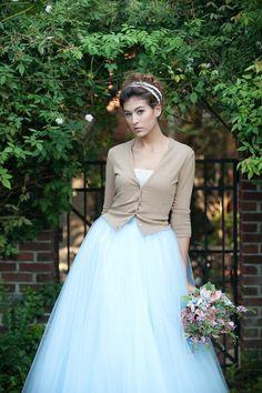 Aisle Style:Keep Cozy With Bridal Cardigans! Plus Wedding Dresses, Black Bridesmaid Dresses, Colored Wedding Dresses, Wedding Gowns, Wedding Dress Cardigan, Dress With Cardigan, Wedding Dress Sleeves, Bridal Looks, Bridal Style