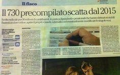 Tanto lavoro per nulla, questo sarebbe il giusto titolo. 730 precompilato ma serve aiuto del caf e allora? #politica #italia