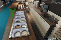 Bar Sharing with Panorama Technology for gelato