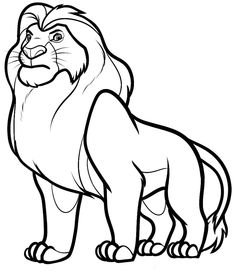 117 Best The Lion King Coloring Pages Images On Pinterest