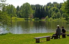 Ein ruhiger Sonntagnachmittag in Losheim am See, Saarland, Germany.