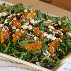 Earth & Vine's Mandarin Arugula Salad Recipe
