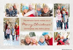 10 best christmas photo collage card ideas images on pinterest
