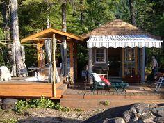 Sunset Island Resort - Sproat Lake, British Columbia, Canada